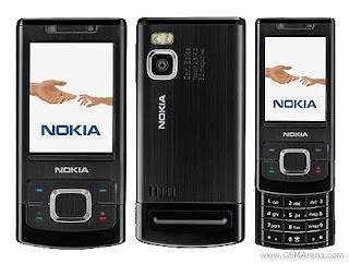 The Nokia 6500 Slide