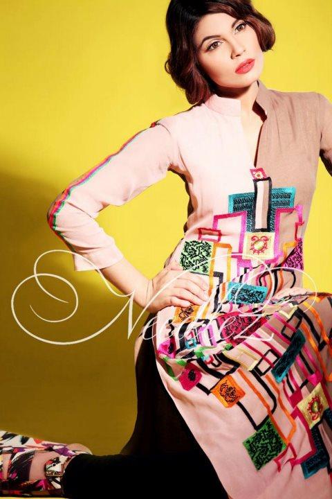Needlez Color Blocking Collection 2012 @ Shalimar   Color Blocking Fashion 2012