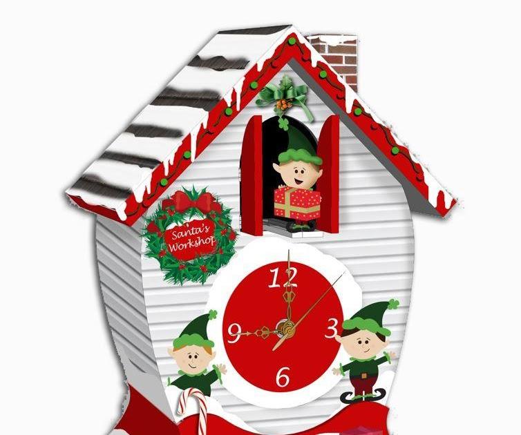 Christmas Clocks With Carols