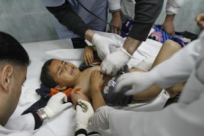 Imagens fortes-atenção- crimes de Israel - foto 3