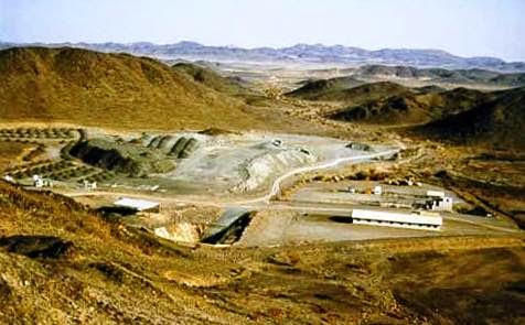 منجم نحاس جبل صايد في السعودية