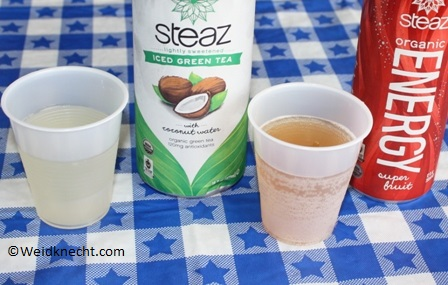 Steaz Zero Calorie Energy Drink Review