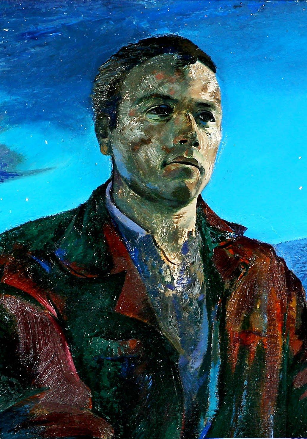 Kolec Traboini portret nga Arben Basha 1979