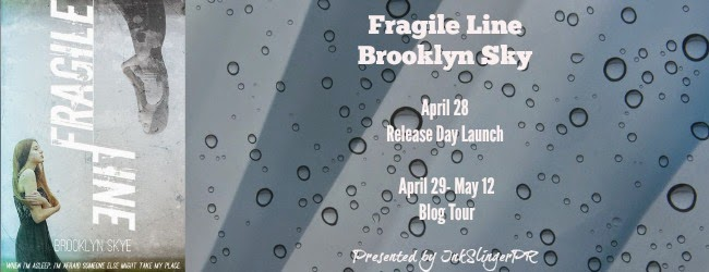 http://www.inkslingerpr.com/2014/04/28/brooklyn-skyes-fragile-line-release-day-launch-blog-tour/