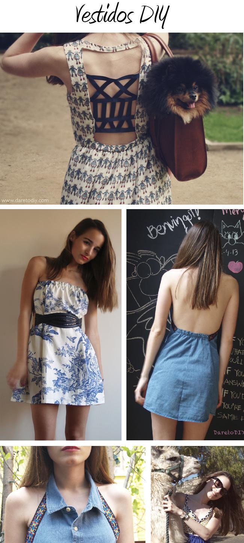 Transformar una falda larga en un vestido