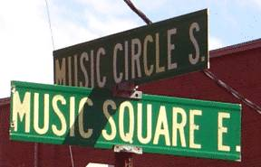 Music Row street signs image from Bobby Owsinski's Music 3.0 blog