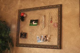 Chicken wire frame - sold