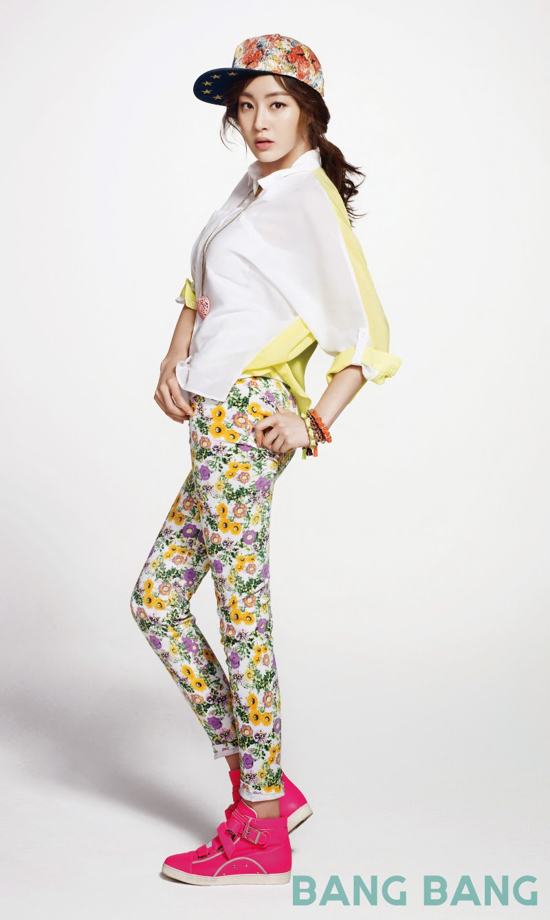 Kang So Ra - Bang Bang Spring Summer 2014