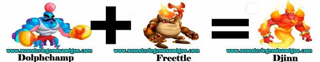 como obtener el monster djinn en monster legends formula 3