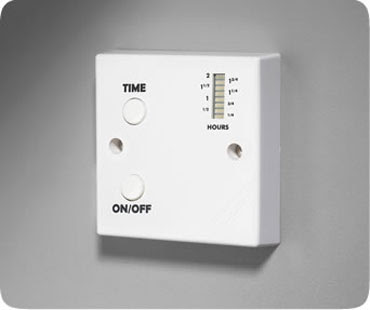 The energy saving RBT1 Timer - CP Electronics RBT1 20A High Output Electronic Run Back Timer