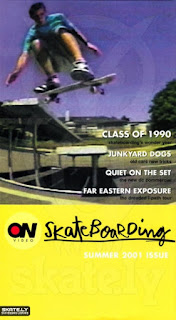 SKATERNOISE ON VIDEO - Summer 2001