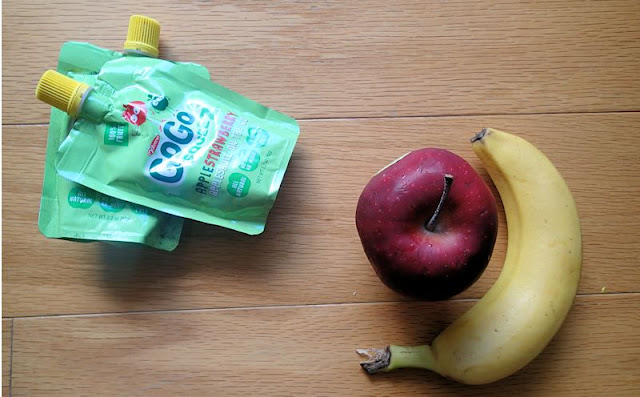 fruit squeeze pouches healthy