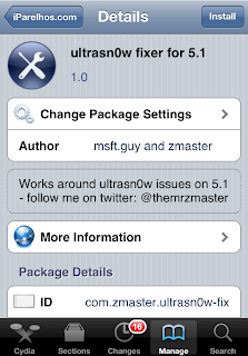 Ultrasn0w fixer for 5.1