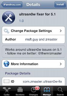 Ultrasn0w fixer for 5.1