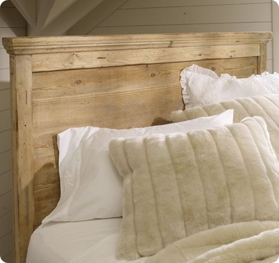 21 wood headboard design ideas the grey home for Respaldo de sommier
