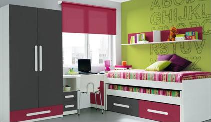 habitacin juvenil cama nido ideal para aprovechar espacios pequeos y para acoger visitas de los amigos de nuestros hijos