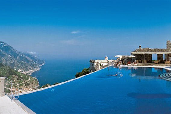 The alfano group the 10 most amazing swimming pools in for Hotels in ravello with swimming pool