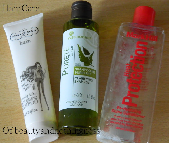 June Empties 2012: Hair Care