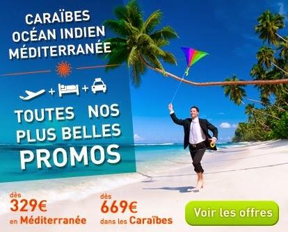 Promo séjours Antilles