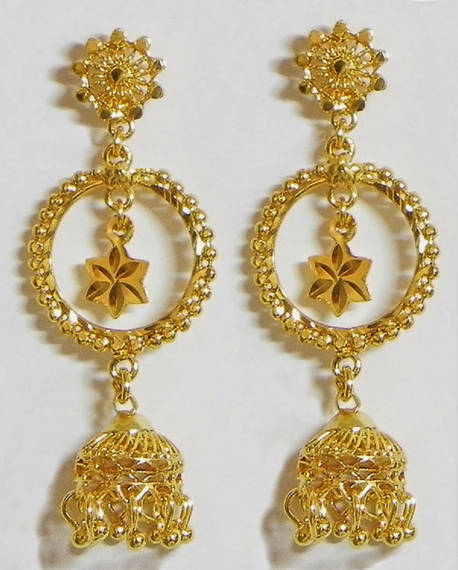 New Latest Jhumka Earring Designs Wallpapers Free Download