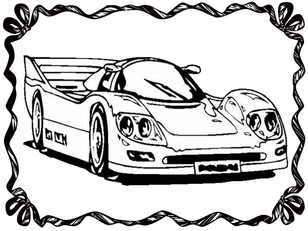 Drag Car Coloring Pages : Free drag cars coloring pages
