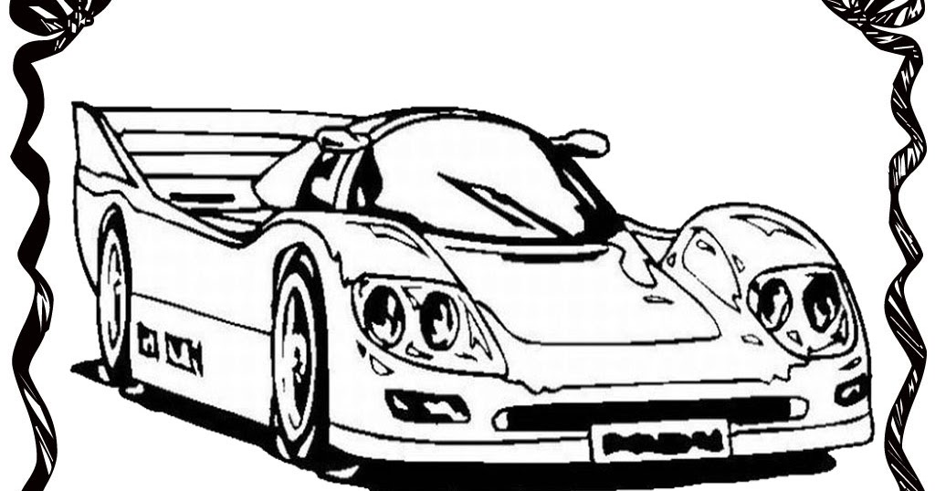 Realistic Car Coloring Pages : Drag racing car coloring pages realistic