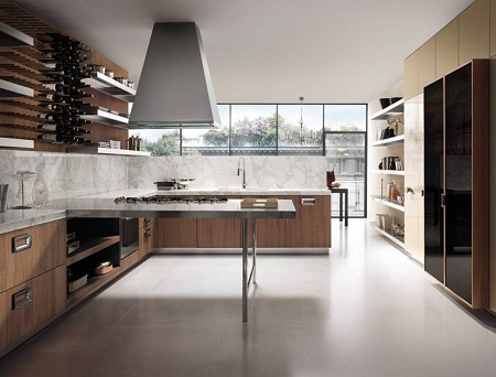 brown-kitchen-design