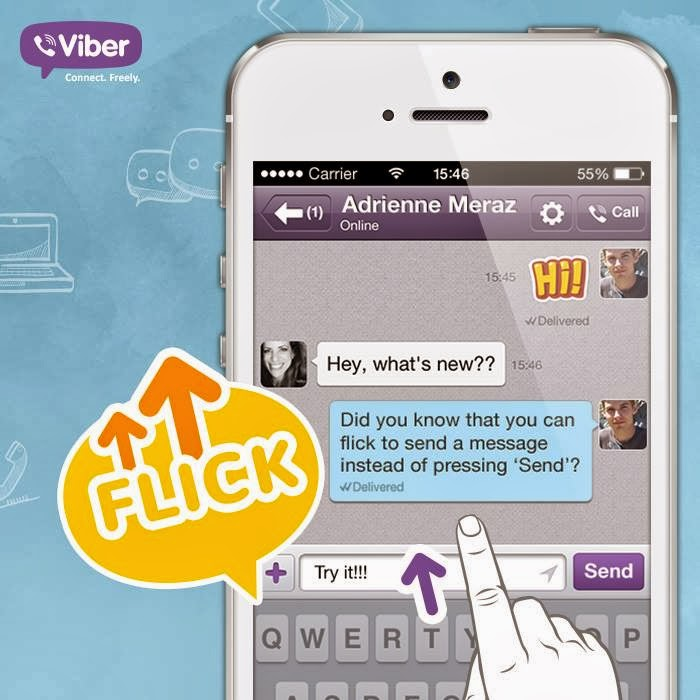 how to know if viber message is read