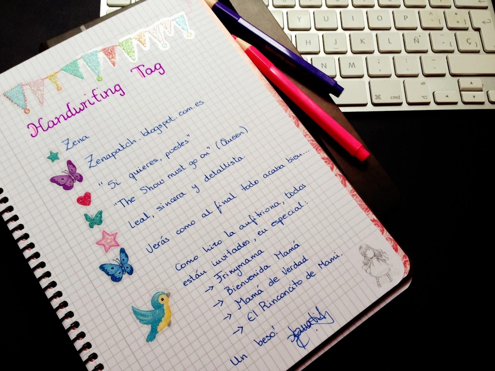 que la escritura a mano -o  Letras Bonitas A Mano