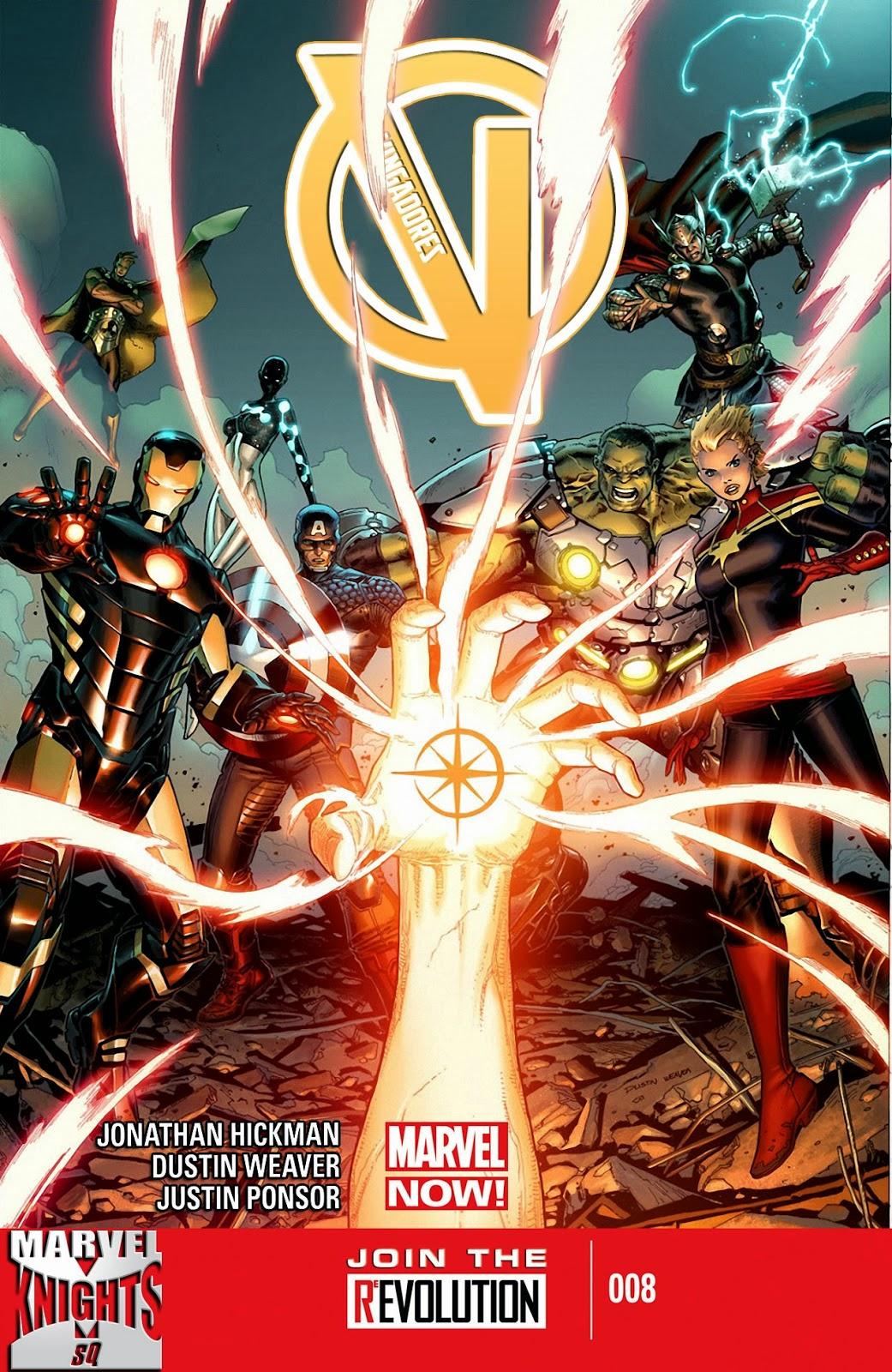 Nova Marvel! Vingadores v5 #8