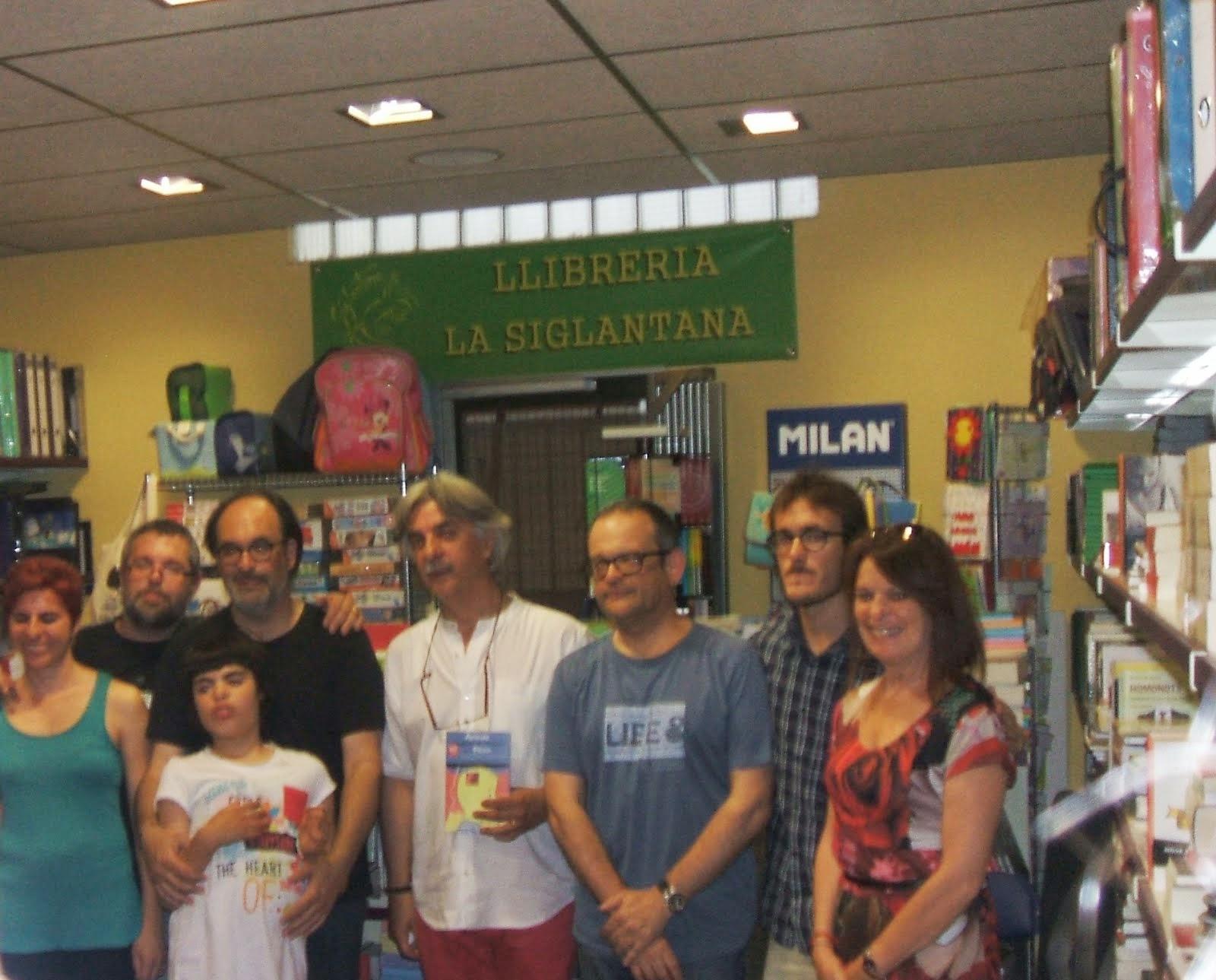 A llibreria La Siglantana 21 de juny 14
