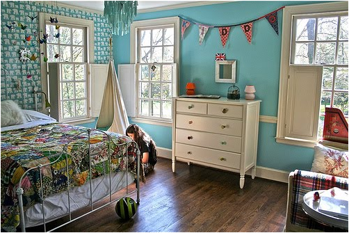 Key Interiors by Shinay: Vintage Style Teen Girls Bedroom Ideas