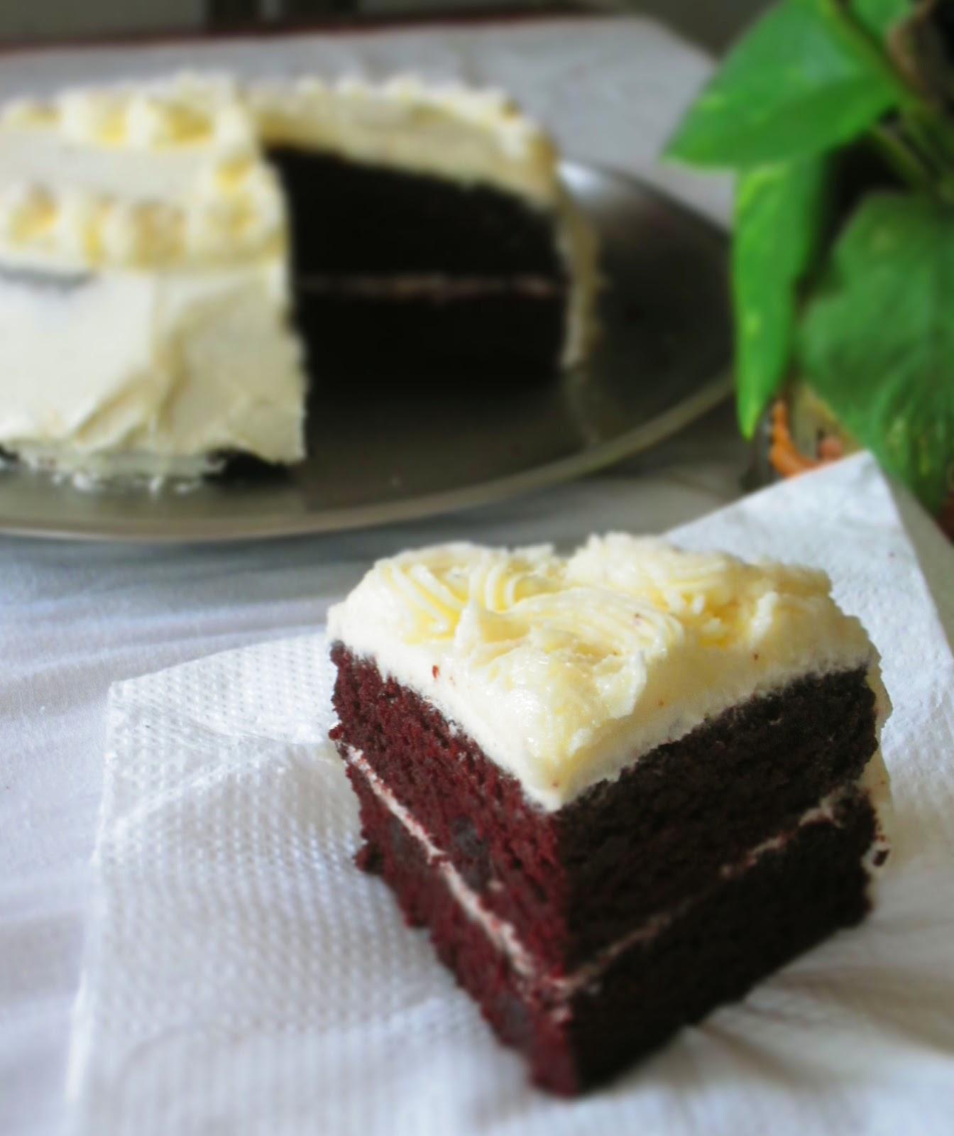 Chocolate cake with orange icing recipe