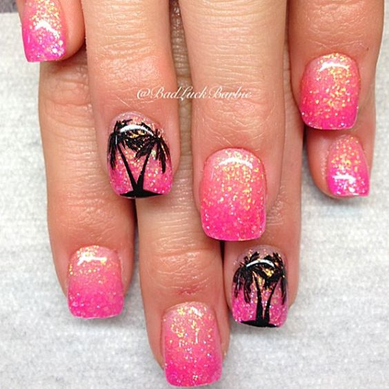 Awesome Tropical Nail Art Designs Omg Love Beauty