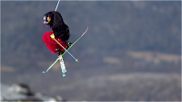 ski slow motion