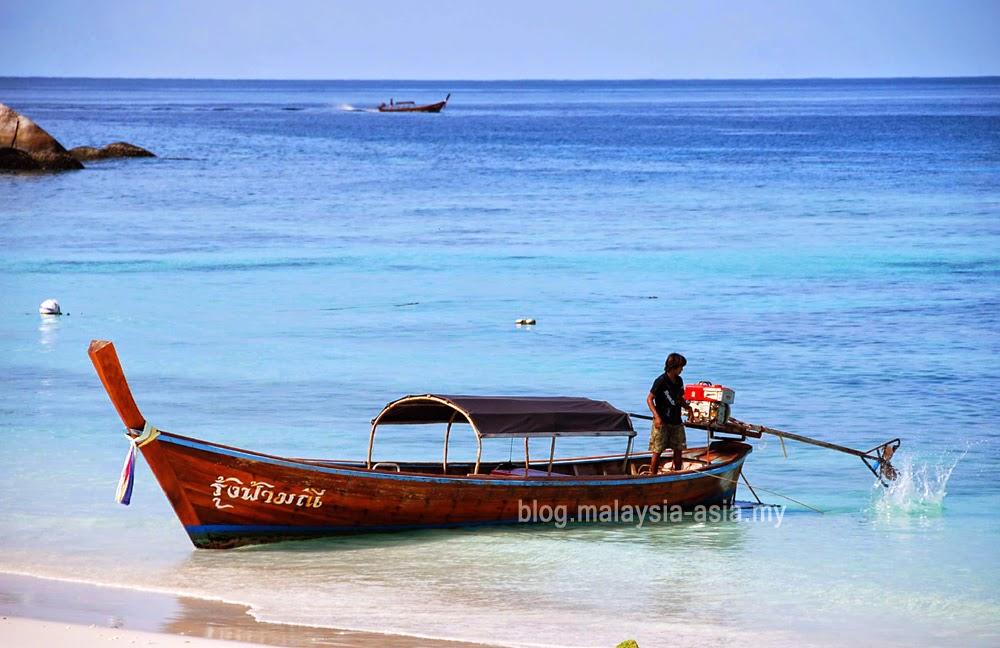 Longtail Boat Koh Lipe