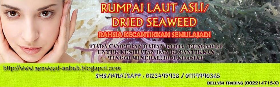 RUMPAI LAUT ASLI/DRIED SEAWEED