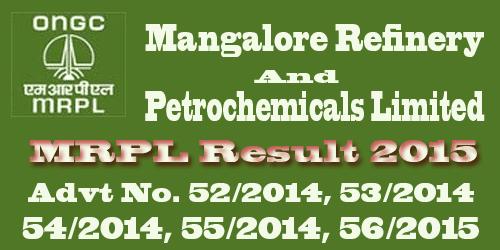 Mangalore Refinery MRPL Result 2015
