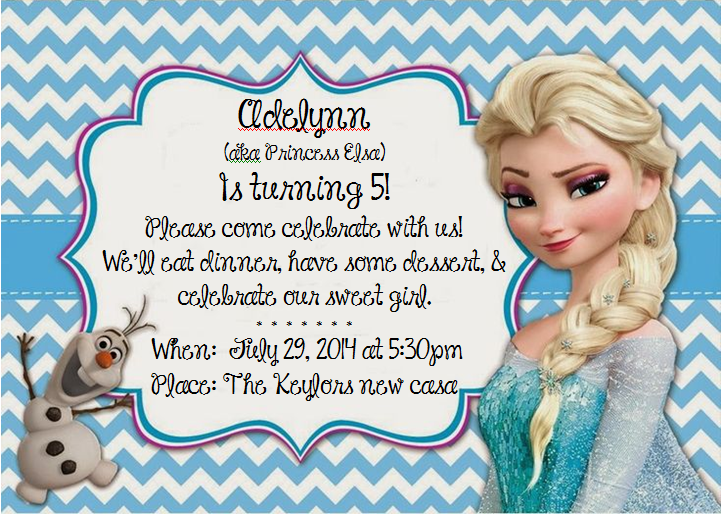 Frozen Olaf Invitations is luxury invitations ideas