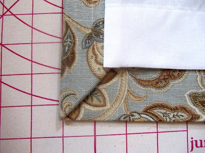 Sew With A Hidden Stitch. Start At The Top.