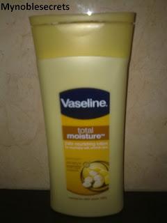 Vaseline body lotions