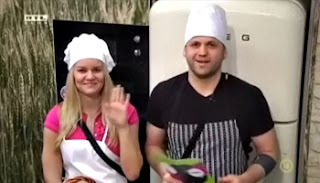 Kinga és Attila főznek