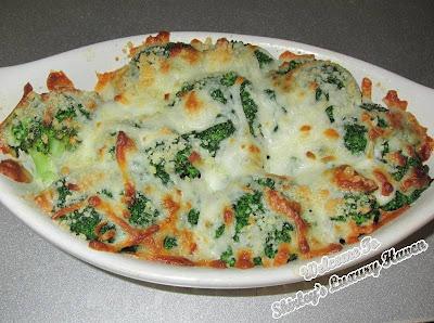 baked cheesy broccoli, cookforfamily