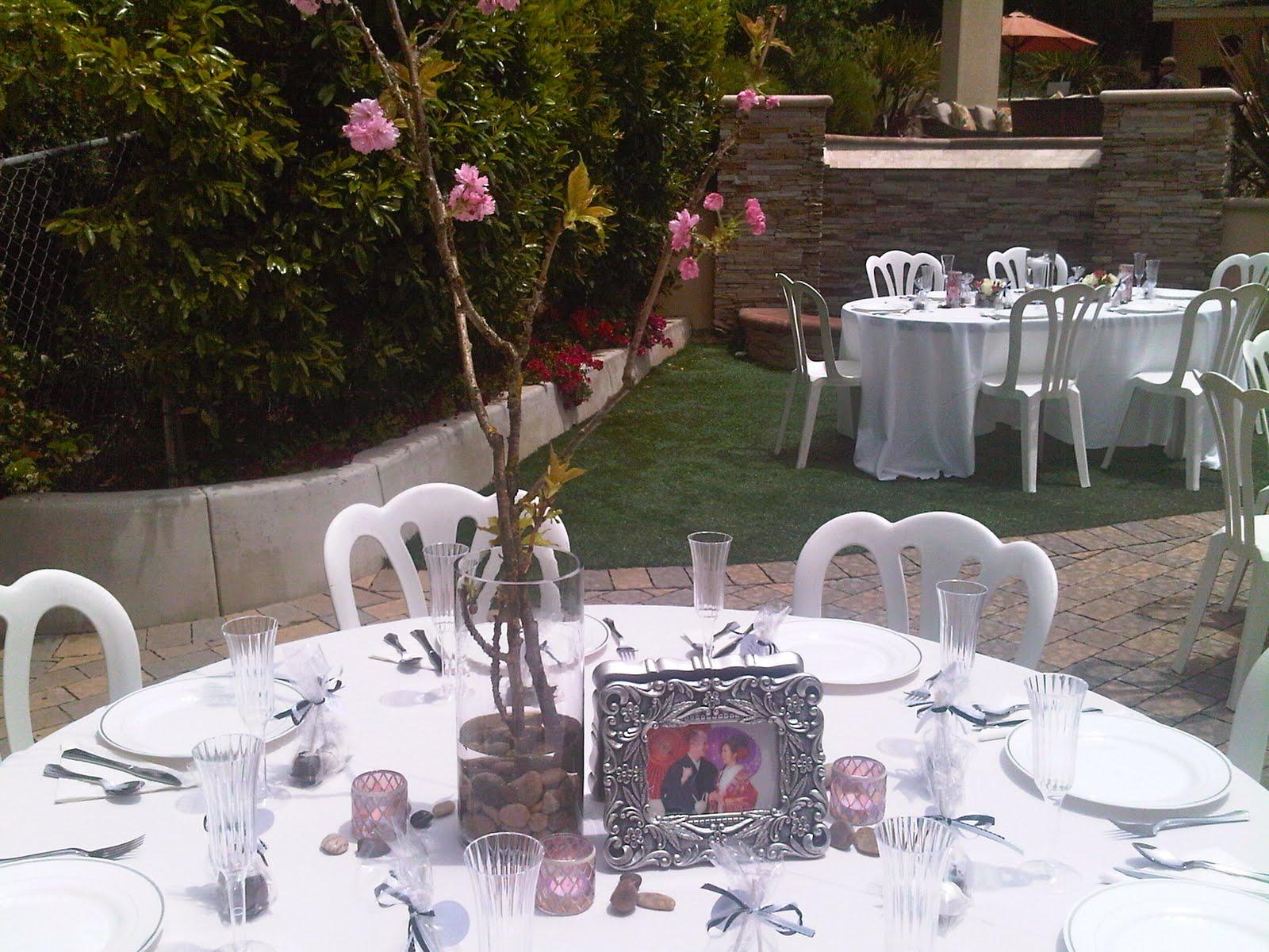 Plumeria Cake Studio: Cherry Blossom Wedding Centerpieces