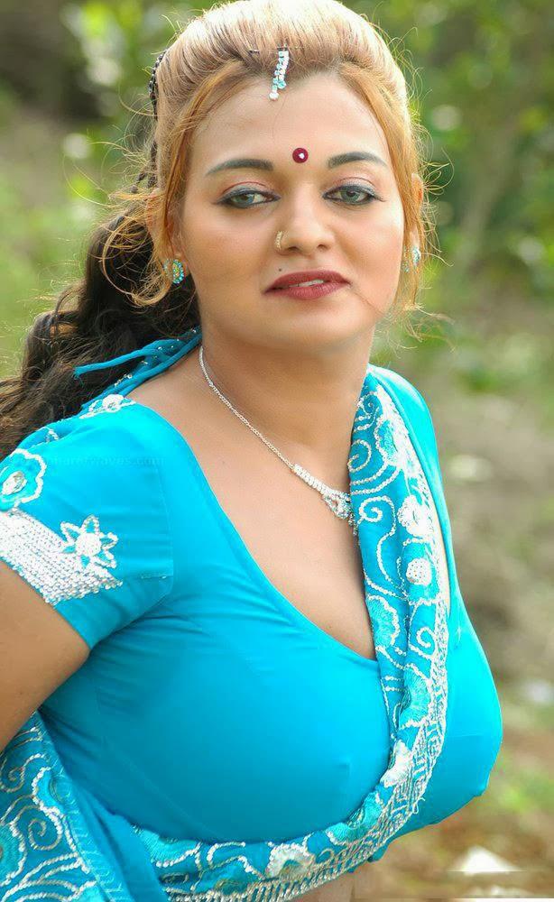 Telugu Desi Mallu Masala Aunty Bhanu Hot Sexy Spicy Photos