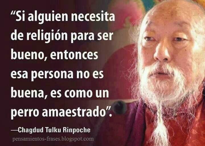 frases de Chagdud Tulku Rinpoche
