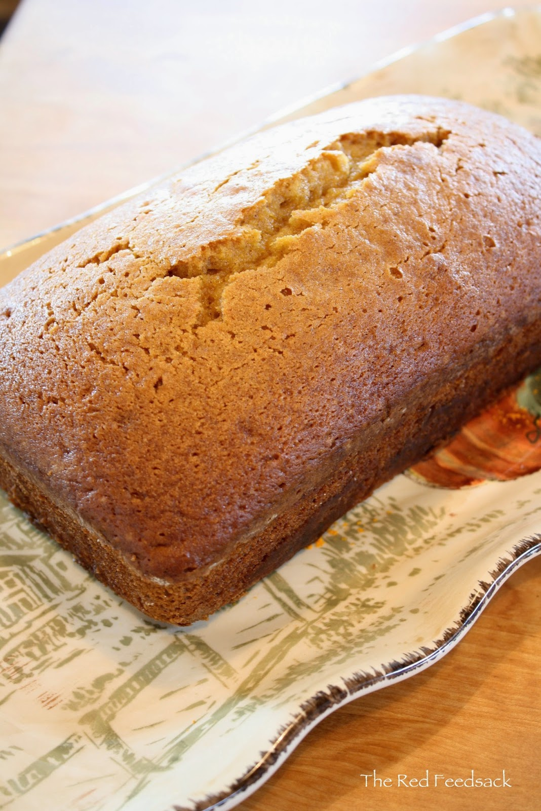 The Red Feedsack: Pumpkin Bread Pudding (with Candy ...