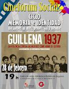 "CINEFÓRUM SOCIAL-CICLO MEMORIA E IDENTIDAD ""Guillena 1937"""
