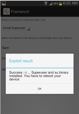 Sukses Root Android