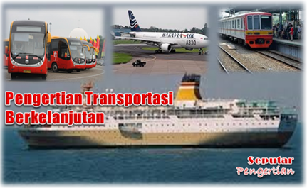 Pengertian Sistem Transportasi Berkelanjutan.